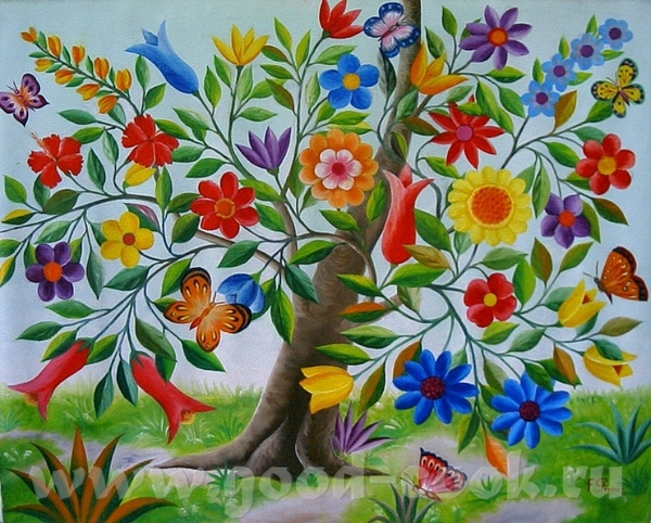 HAITI- Гаитянское искусство HAITI- xудожник J - 4