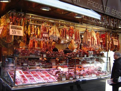 ГОРОДСКОЙ РЫНОК БОКЕРИЯ -Mercat de la Boqueria - В БАРСЕЛОНЕ Про этот рынок я была много наслышана - 2