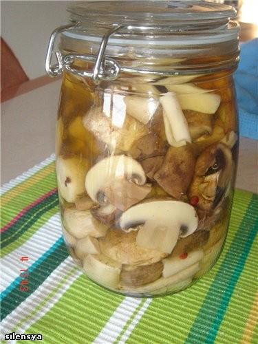 Ну вот и грибочки Грибочки маринованные от Katiana,очень просто и вкусно