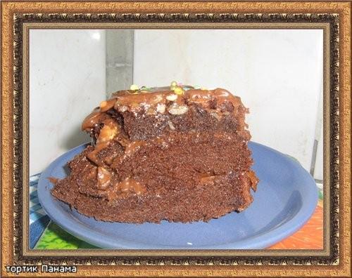 """Торт """"Панама"""" из книги """"МИР ВЫПЕЧКИ"""" 250 г шоколада 9 яиц 200 г сахарной пудры 1 пакетик ванильного... - 2"""