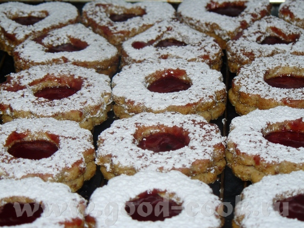 Классическое песочное печенье, которое имеет несколько названий, в зависимости от региона: Spitzbub... - 2