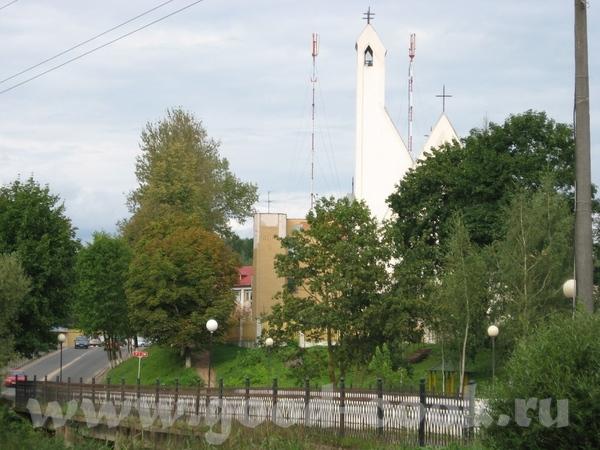 В лес мы едем через городок Логойск, 30 км от Минска - 8