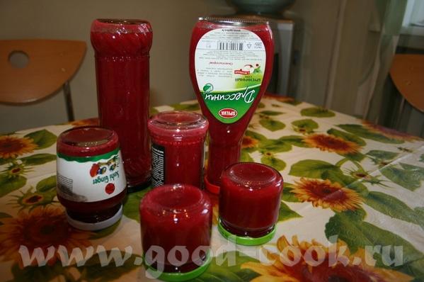 "Висилис,спасибо тебе за ""Острый соус из ягод"""