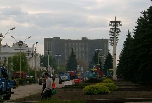 Гостиница Космос Павильон Украина Уфффф