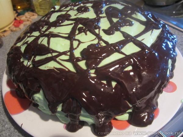 сделала несколько тортиков на бисквите из сгущенки, спасибо вам и мульте, избавилась от чувства вины