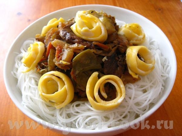 КУКСИ (Суп с лапшой по-корейски)