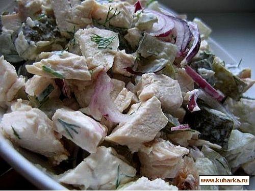 торт салат зеленый - 2
