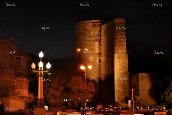Совсем не по теме, но это наш город Баку, просто, чтоб вы посмотрели и для общей полноты президент...