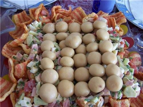 салат мехико с фасолью по рецепту
