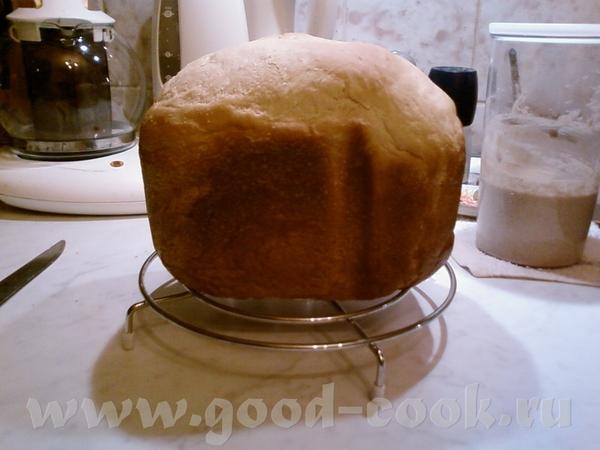 А вот Хлеб пшеничный на сметане и сыворотке от Ромы в хлебопечке у меня получился ОК здесь