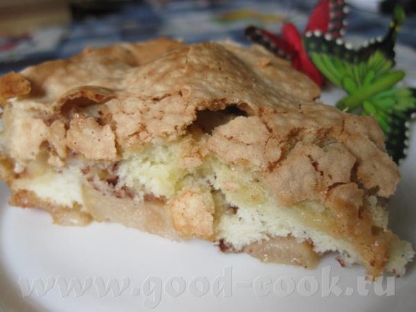 """Яблочный пирог """"Нежный"""" - 2"""