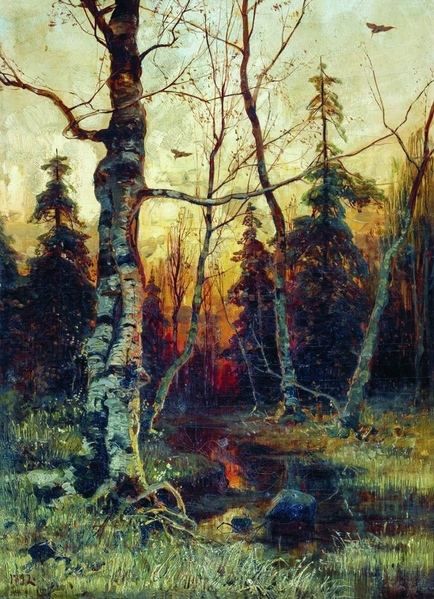 Юлий Клевер - русский живописец - 4