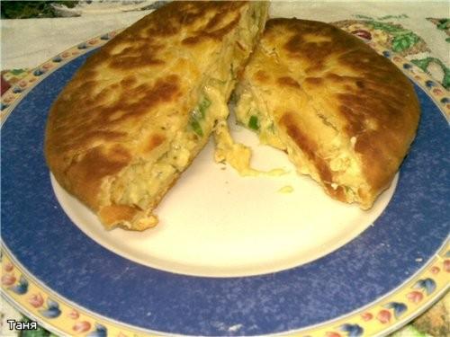 Лепешки с сыром и картошкой Для теста: стакан кефира 1 яйцо 60 г сл - 3
