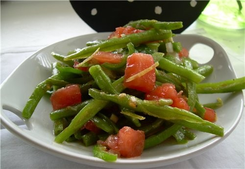 Салат Пасхальный с Языком из телятины Салат« Этаж» из садовых овощей Чилийский салатик - 3