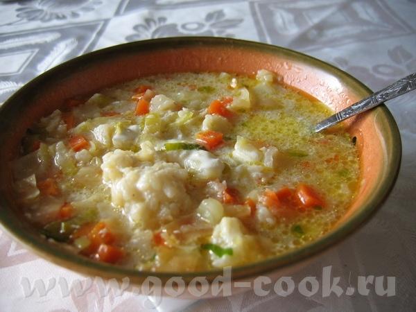 """Блюда от Вalерия, """"Ручная работа"""" : Морковный суп с рисовыми шариками очень легкий как в приготовле... - 3"""