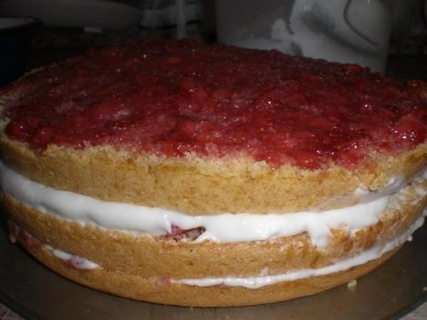Клубничный тортик - 3