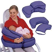 Я опять с вопросами Есть вот такая подушка для кормления но у нее нет поддержки для спины, только д...