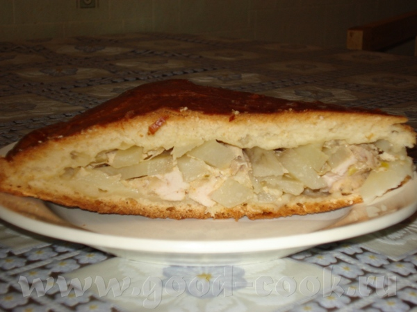 Осетинские пироги с курицей и сыром рецепт с фото пошагово