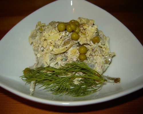 Почти МИНИСТЕРСКИЙ САЛАТ от Наташки (*12 часов) 200г варенного мяса 4 сырых яйца 1 небольшая лукови...