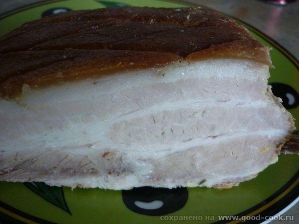 Schweinebauch- свинина запеченая Свинину (у меня был животик с кожей) помыть, обсушить