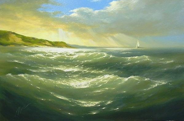 Рекомендую посмотреть вот этого художника Иваненко Михаил Александрович вот одна их его картин