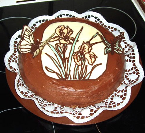 тортик для свекрови на 8 марта а это для доченьки, творожный десерт