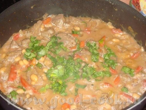 Говядина тушеная с фасолью говяжья вырезка - 500 гр