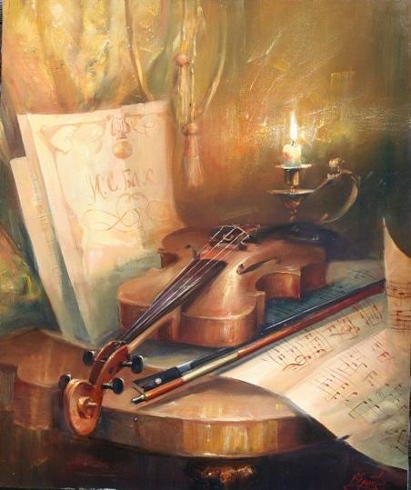 скрипка - вообще необычный инструмент - 3
