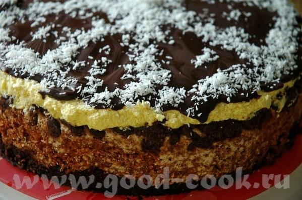 """Торт-конфета """"Баунти"""" ОТСЮДА Слова автора: У этого торта есть два варианта приготовления"""