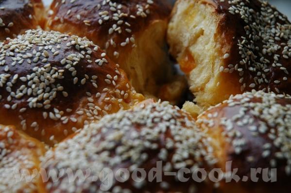 Булочка повышенной калорийности ванильная от Чучелки с цукатами Тесто опарное - 2