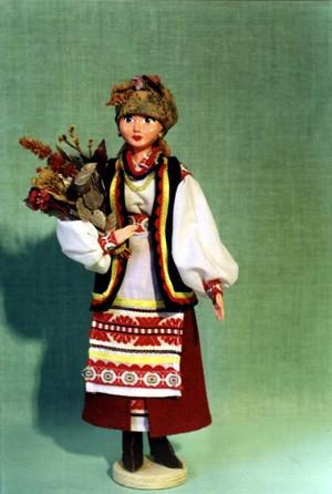 Украинка - Киевская обл, 18 век Русский народный костюм - Московская обл Ну а это самый большой на...