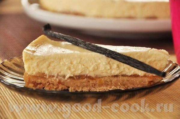 Ванильный чизкейк с грецкими орехами и джемом Тарт-чизкейк с печёными грушами