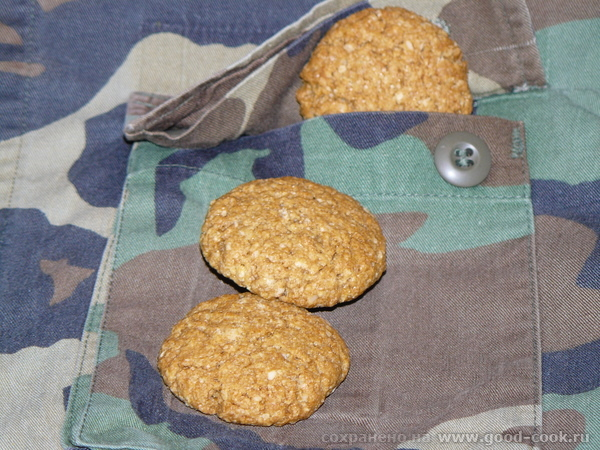 "Солдатское печенье Anzac Biscuits/Armee-Biscuits Описание: ""ANZAC - это « Australian and New Zealand Army Corps »"