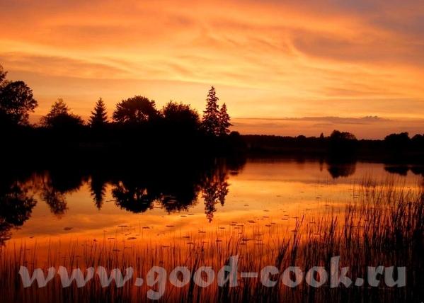 Есть вот такая книга и вот такие фото- закат бывает очень разный: The intense red and orange hues o... - 2
