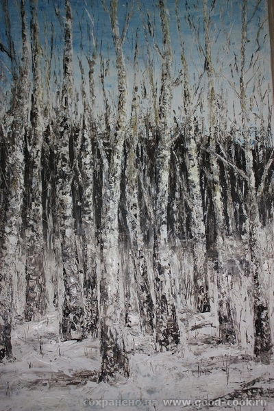 Химкинский лес из окна дома