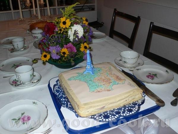 Торт этот пекла уже почти месяц назад, на день рождения свекру