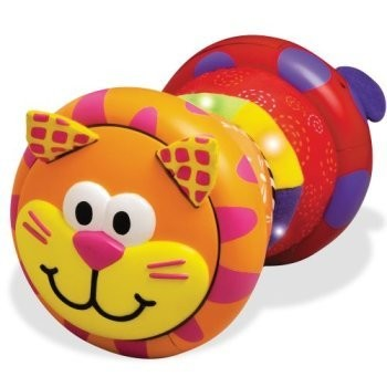 Очень удачная игрушка для детей, которые начинают ползать: когда катится, играет приятная музыка и...