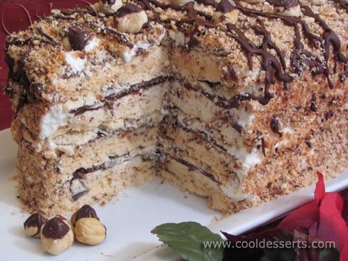 Начну эту часть с одного из самых любимых в нашей семье тортов - 2