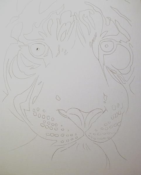 Могу выложить карандашный набросок будущей картины картина будет интересной и сложной одновременно - 2