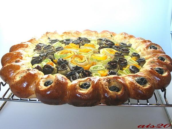 Средиземноморский пирог