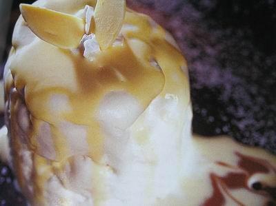 Манговый мусс Взбит 1 желток с 50 г