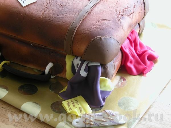 И ещё один торт на окончание школы - 2