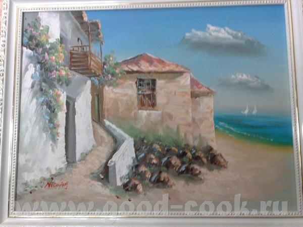Это картины с Острова Санторини(Греция) - 2