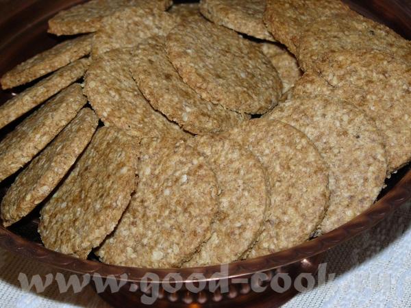 Печенье овсяно-цельнозерновое