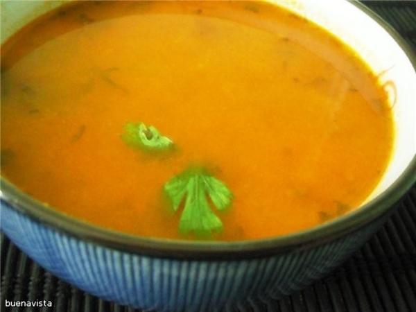Я готовила суп из зеленой фасоли по рецепту Балканская кухня