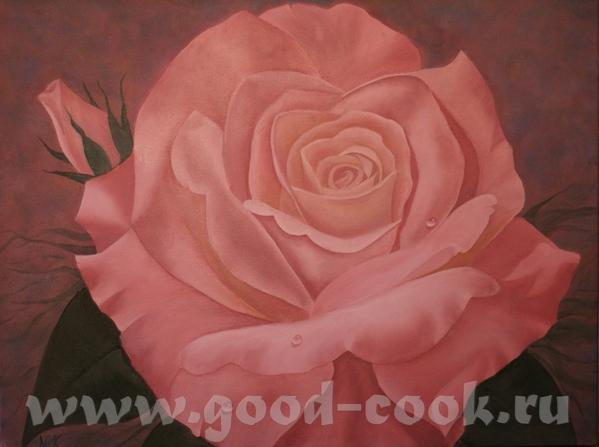 Это моя роза после корректировки