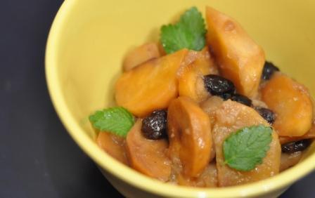 Репа, запеченая с яблоками, изюмом и медом Это сладкое блюдо, скорее десерт, хотя вполне может посл...