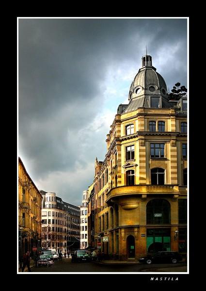 Хочу тоже поделиться парой фоток нашего города Лейпцига (Германия, восточная часть)