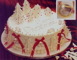 Пора думать про новогодние тортики Описание этого тортика в картинках