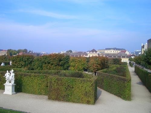 Это одна из главных достопримечательностей Вены Бельведер - 3